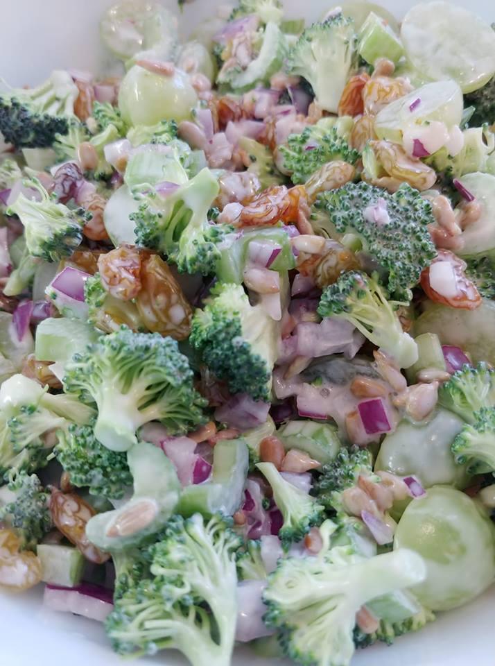 Broccoli Salad Recipe Creamy