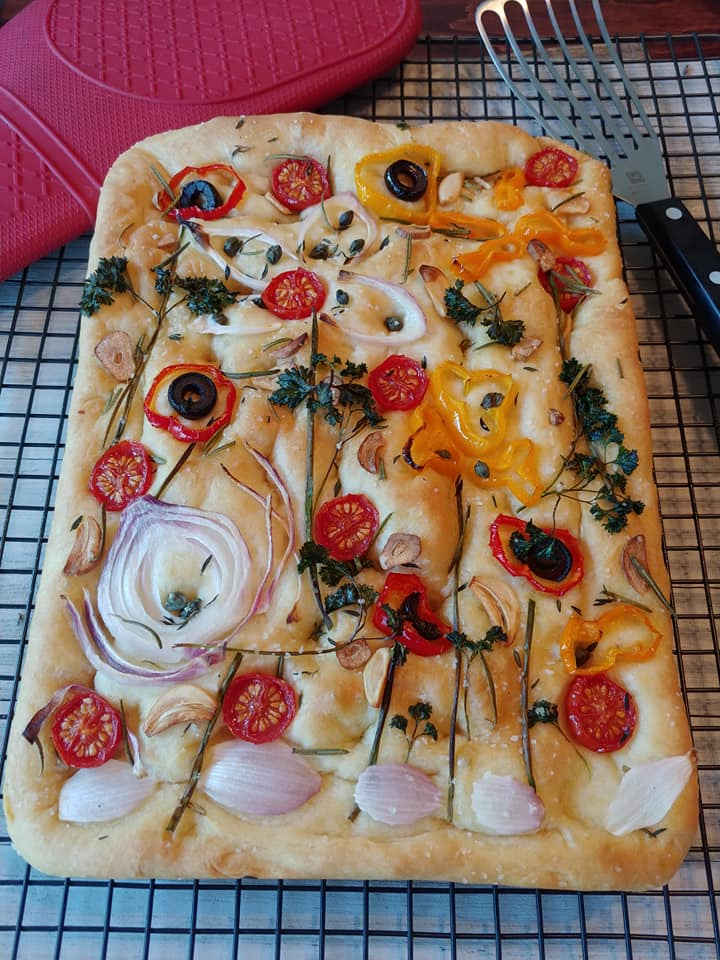 Focaccia Bread Art Recipe Easy Recipe Tastes Great Jett S Kitchen