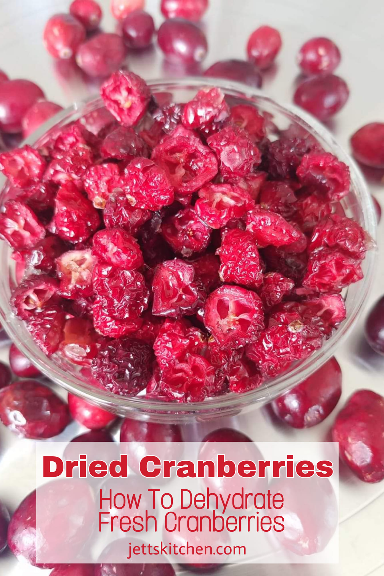 Dried Cranberries How To Dehydrate Fresh Cranberries Jett S Kitchen
